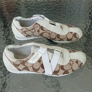 Coach Kyrie Tan White Sneakers